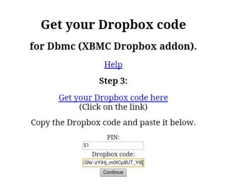 Conecta XBMC con tu Dropbox