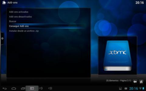 Mejora XBMC para Android