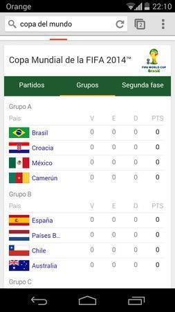 Buscador Google Copa del Mundo