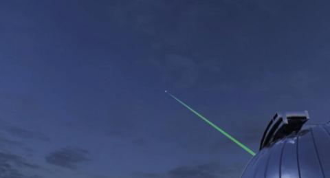 ISS envía vídeo a la Tierra a través de láser