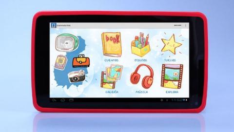 Papyre Pad 716 Kids, un tablet de 7 pulgadas para niños, desarrollada por pedagogos. Con 1300 ebooks gratuitos.
