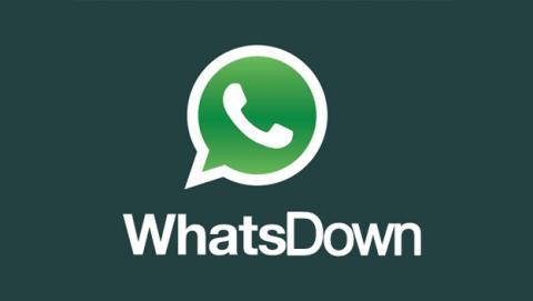 Nueva caída mundial de WhatsApp, la segunda en quince días.