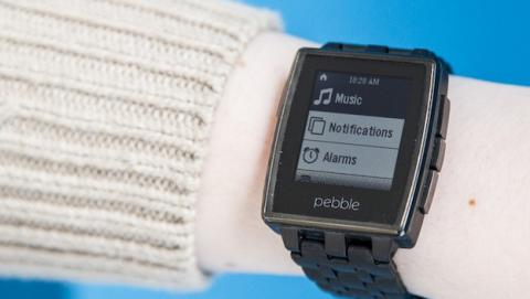 La actualización de Pebble incluye controles de volumen