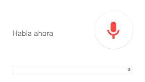 Buscar por voz en Google Chrome