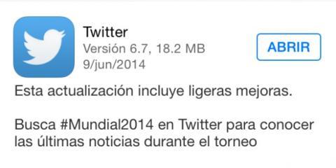 twitter mundial 2014