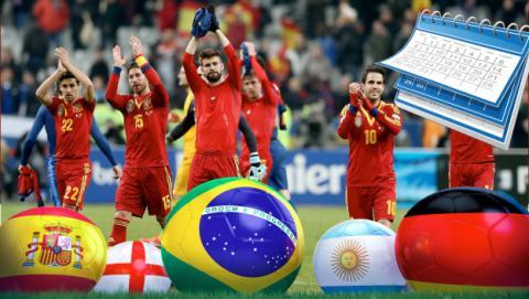 Partidos y horarios de los partidos del Mundial en abierto