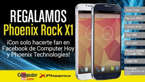 ¡Hazte Fan! Sorteamos un smartphone Phoenix Rock X1