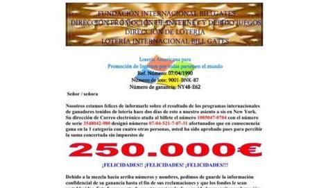 Lotería de Microsoft