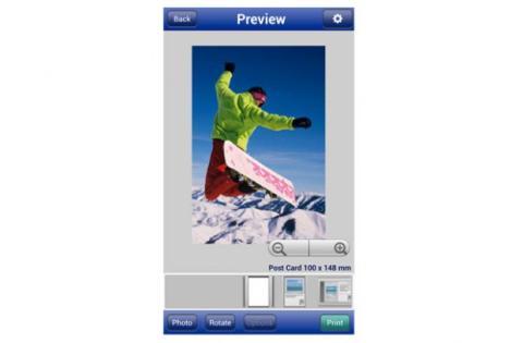 Imprimir fotos con app