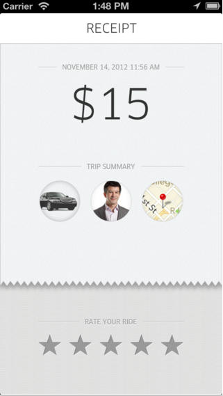 Factura Uber