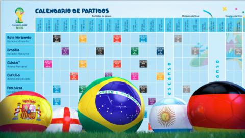 Calendario del Mundial: Fecha y hora