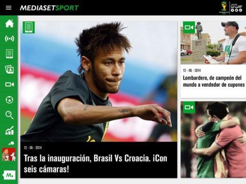 Donde ver online partido del Mundial Brasil Croacia