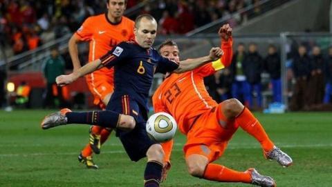 partido Mundial de Brasil España Holanda