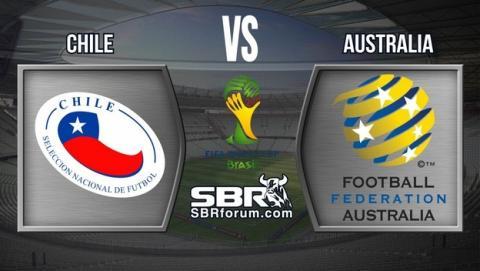 Dónde ver el partido del Mundial Chile - Australia online y gratis.