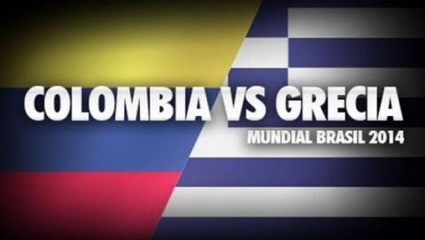 Dónde ver gratis en abierto el partido del Mundial Colombia - Grecia.