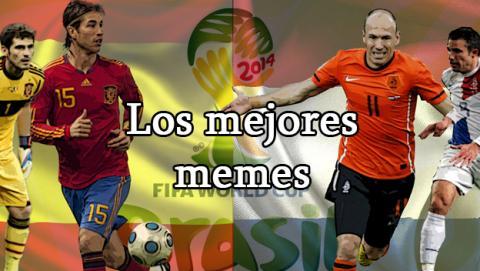 memes españa holanda 2014