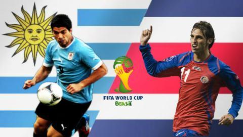 Cómo ver online el partido del Mundial: Uruguay - Costa Rica
