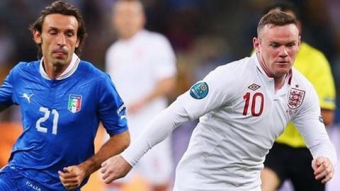 Donde ver partido del Mundial Inglaterra -Italia