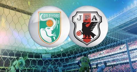 Mundial Costa del Marfil contra Japón