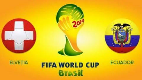 Dónde ver partido del Mundial de Brasil 2014, Suiza Ecuador