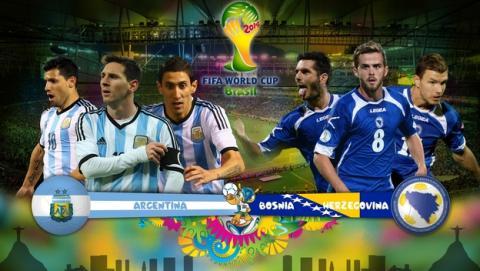 Dónde ver online partido del Mundial: Argentina - Bosnia