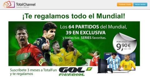 Cómo ver partidos del Mundial de Brasil gratis