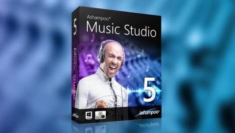 Ashampoo Music Studio 5, una solución todo-en-uno para crear, editar, diseñar y producir tu propia música.