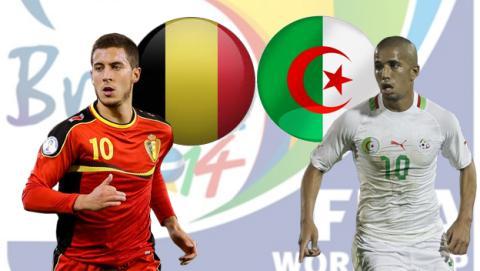 Bélgica - Argelia
