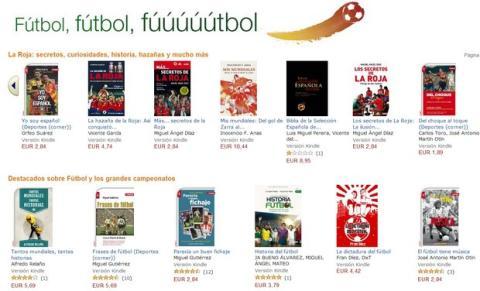 Ebooks sobre fútbol y mundial