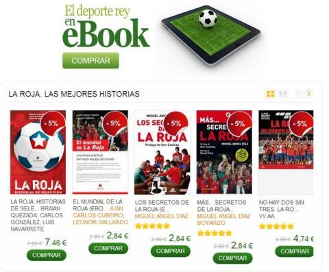 Ebooks de fútbol y el Mundial