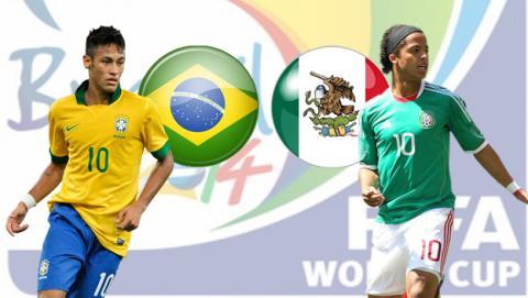 Mundial 2014: Ver online y en directo el Brasil - México