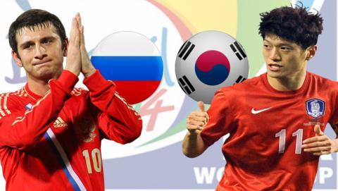 Rusia - Corea del Sur