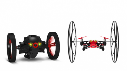 Parrot Rolling Spider y Parrot Jumping Sumo