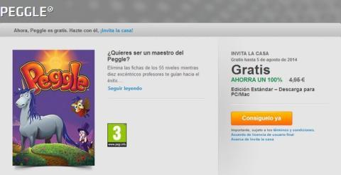 Descarga Peggle gratis