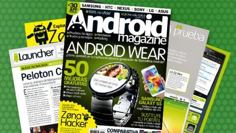 Android Magazine 31: a la venta en quiosco y edición digital
