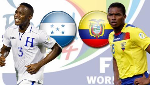 Honduras - Ecuador