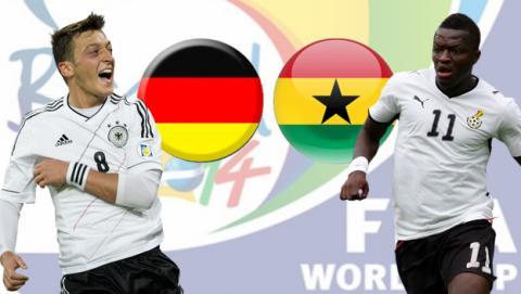 Mundial 2014:  Alemania - Ghana