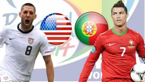 EE UU contra Portugal