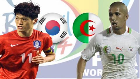 Corea del Sur - Argelia