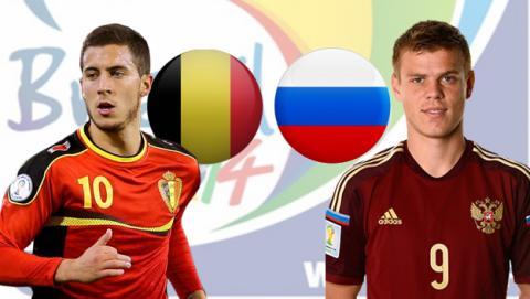 Bélgica - Rusia