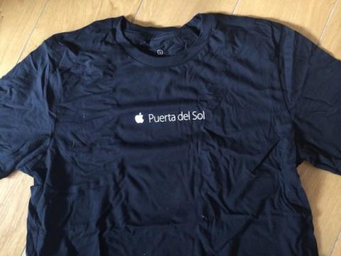 camiseta Apple