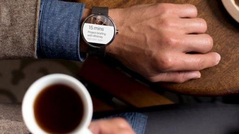 Reloj Samsung con Android Wear
