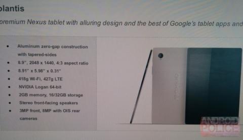 HTC Nexus 9 Volantis