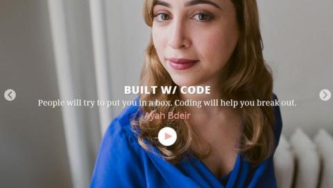 Made with Code, la nueva campaña de Google para animar a las mujeres a programar y a crear código.