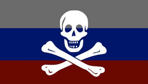Rusia es el país que más piratea del mundo. España el quinto