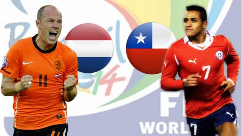 Holanda contra Chile
