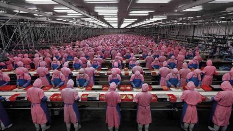 Foxconn contratará a 100.000 trabajadores chinos para fabricar el iPhone 6. Pegatron aumenta su plantilla un 30%