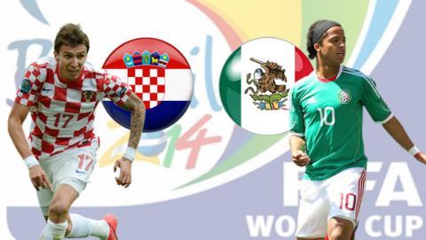 Croacia contra México