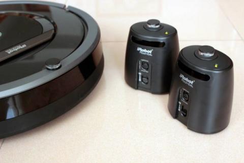 Sistema de navegación del Roomba 880