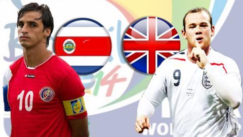Costa Rica - Inglaterra